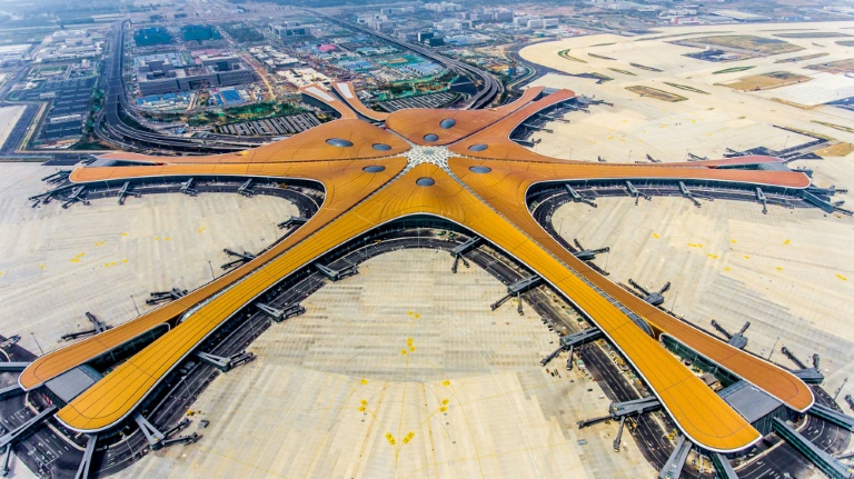 Giant Beijing airport set to open on eve of Chinas 70th birthday