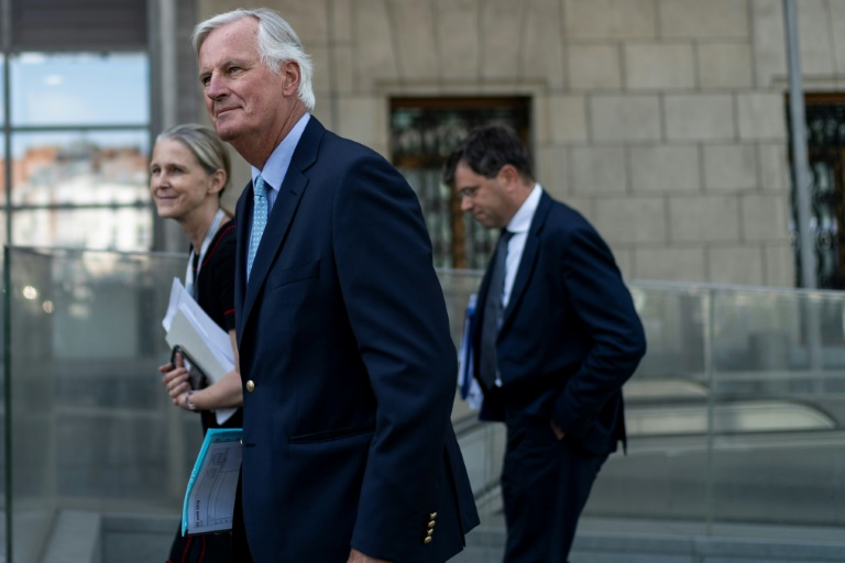 EUs Barnier says Brexit deal cannot be changed