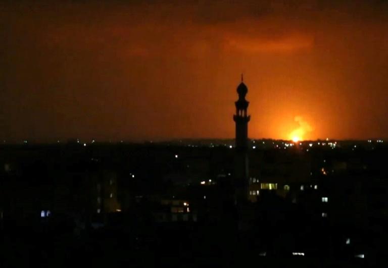 Israel strikes Hamas after new Gaza rocket fire: army