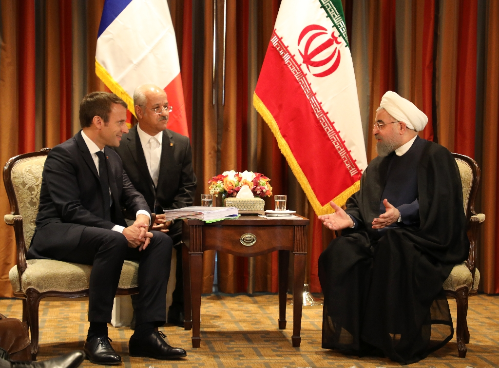 Macron says Iran nuclear deal no longer enough