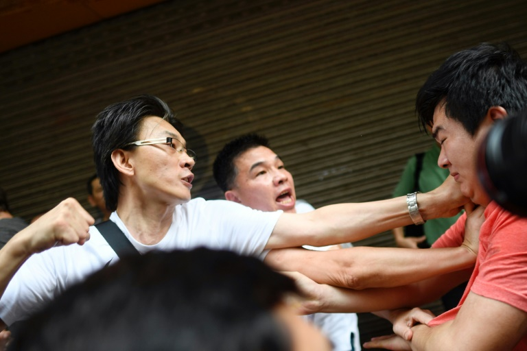 Theyre being used: Hong Kong protests divide neighbourhoods