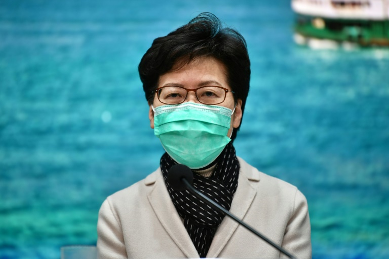 Hong Kong slashes border crossings with China over virus