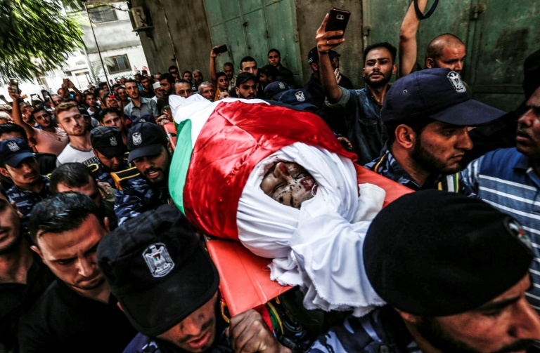 Gaza under alert after suicide bombings kill three police officers