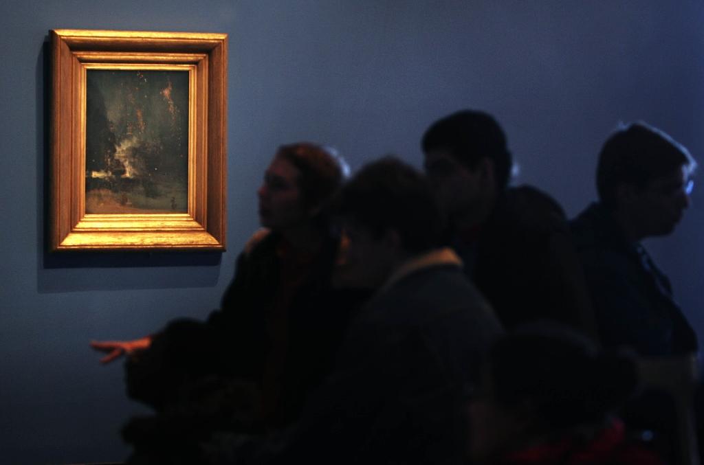 Forgotten Whistler canvas found in Dutch museum