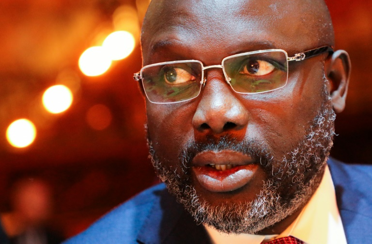 Liberia souring on George Weah at two-year mark