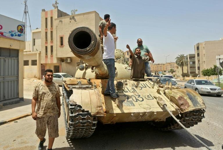 Libya unity govt says Egypt threat declaration of war