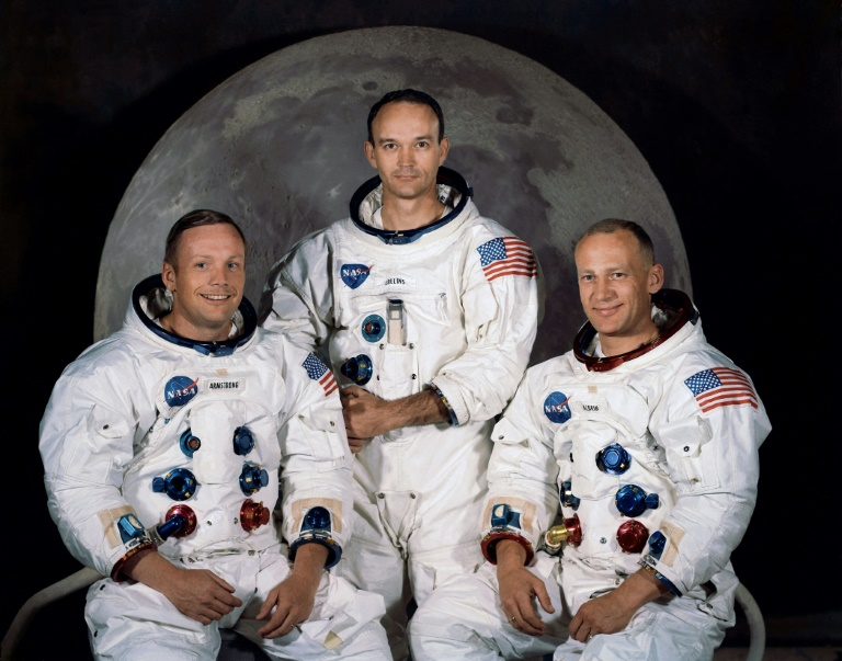 One giant leap: US marks Apollo mission 50 years on