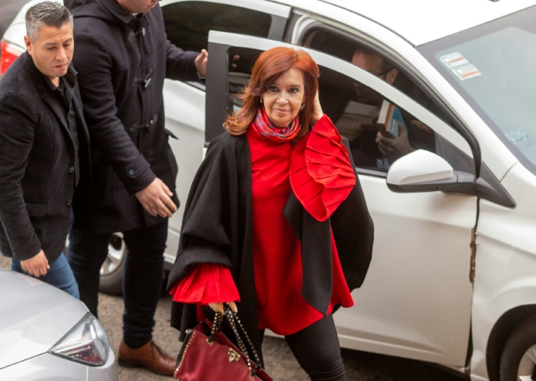 Argentine court rejects Kirchner bid to throw out corruption case