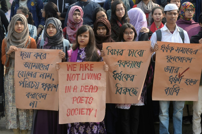 Students rape triggers protests in Bangladesh capital