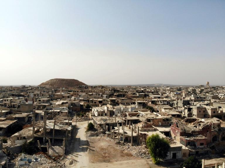 Syria soldiers eye Turkish outpost in recaptured town