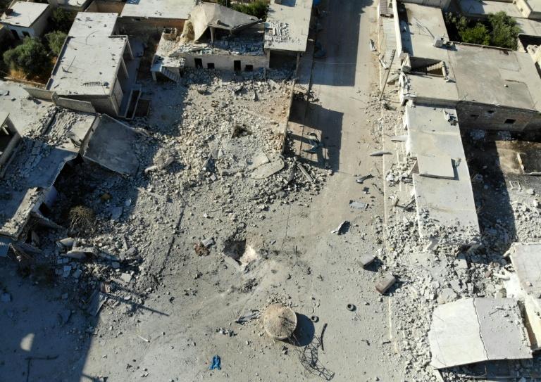 US strikes jihadists in Syria, monitor says 40 killed