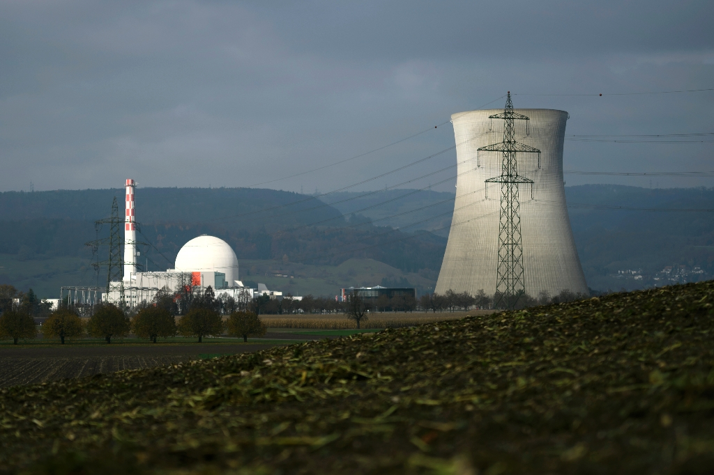 Swiss nuclear plant finds defective tubes from France's Areva