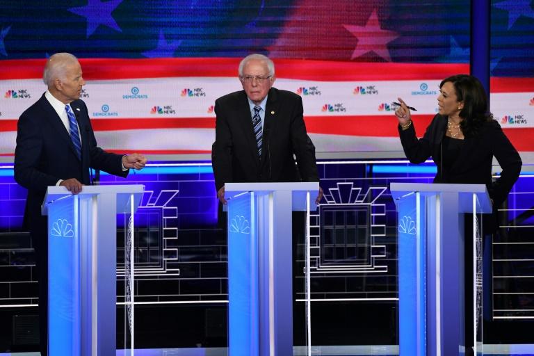 Biden apologizes for comments defending segregationist senators