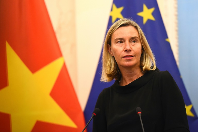 EU criticises militarisation of South China Sea