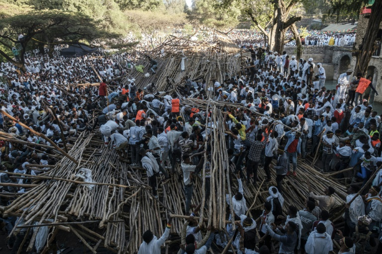 Ten killed in seating collapse at Ethiopian festival