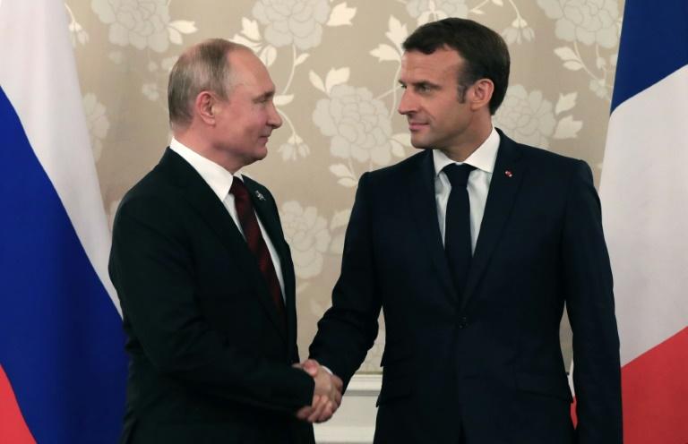 Putin and Macron call for efforts to save Iran deal: Kremlin