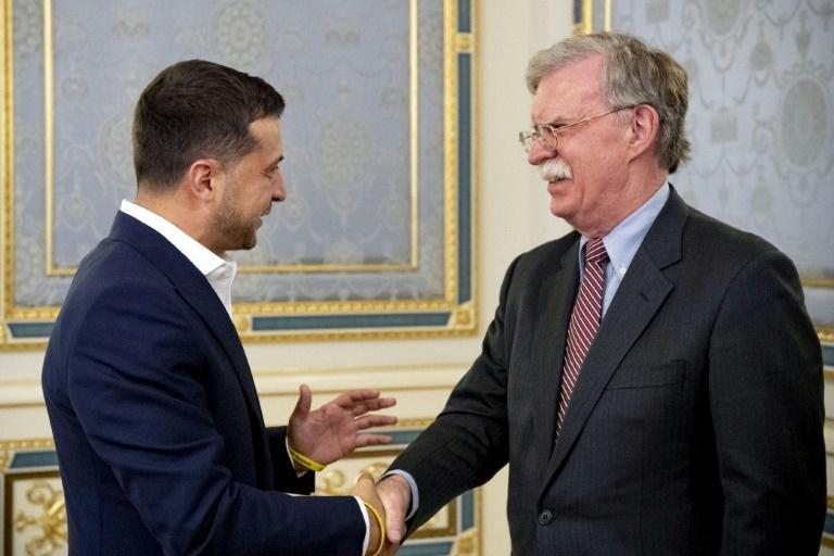 Trump advisor Bolton stresses Ukraines territorial integrity