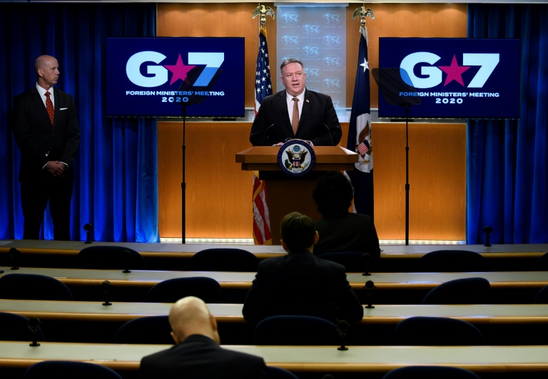 Pompeo attacks Chinese virus campaign at G7 as Europeans seek cooperation