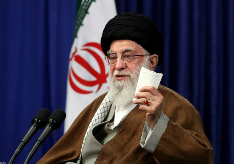 Irans Khamenei says US will be expelled from Iraq, Syria