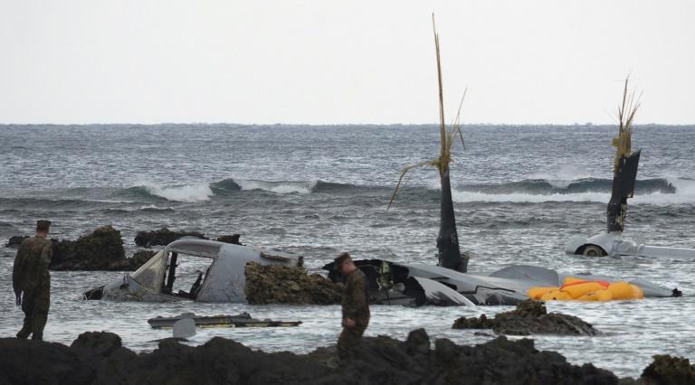 Japan refers US military pilot to prosecutors over Osprey crash