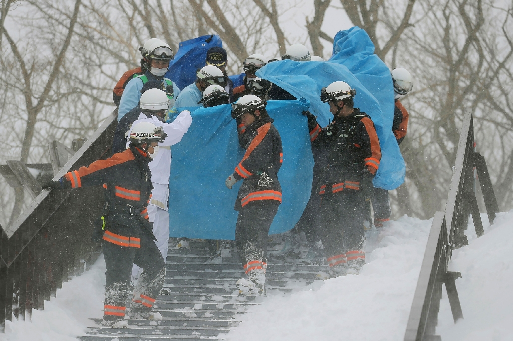 Seven students, one teacher killed in Japan avalanche