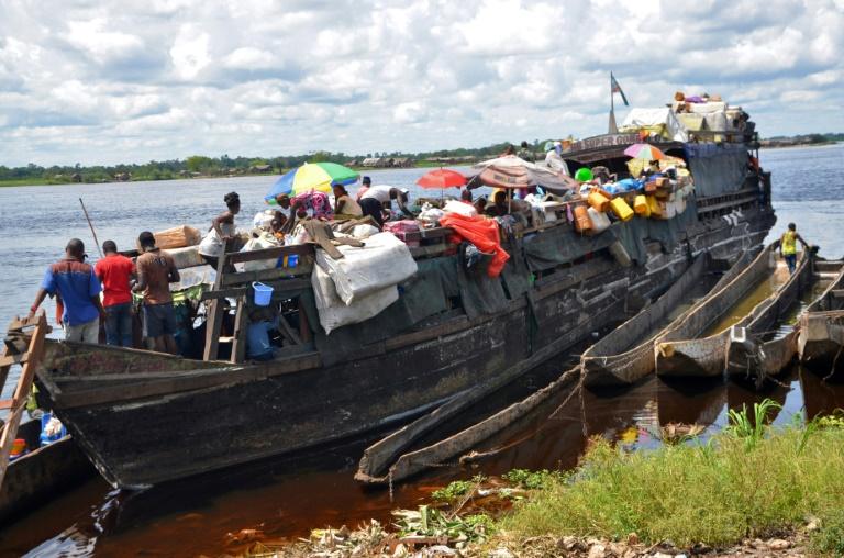 Seven dead in DR Congo lake boat capsize
