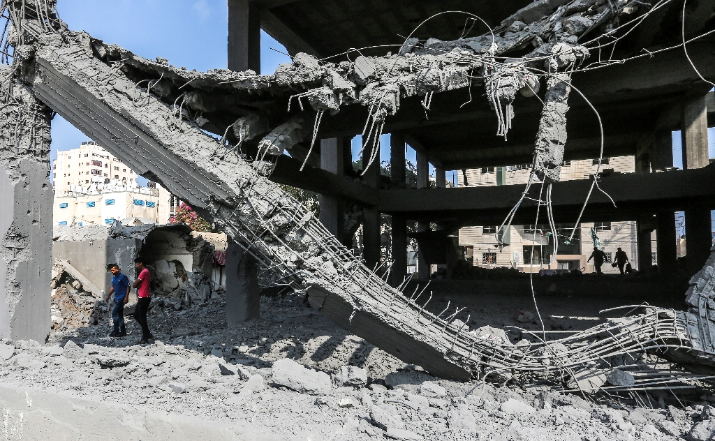 Gaza truce mostly holds after heavy Israel strikes, Hamas rocket fire