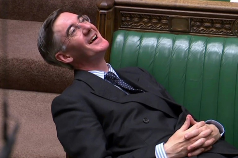 Contemptuous!: Brexit Britain fumes at reclining MP