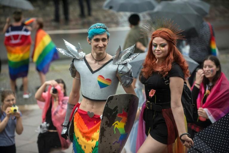 Prague Pride parade draws 30,000