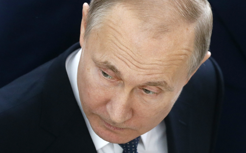 Kremlin's earnings list for top officials sets Putin's annual income at 18.7 million rubles (US$ 302,000) and his property assets as a 77-sq-metre apartment and a garage