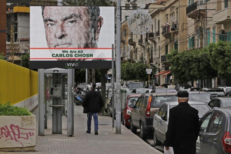 Lebanon denies president welcomed fugitive Ghosn