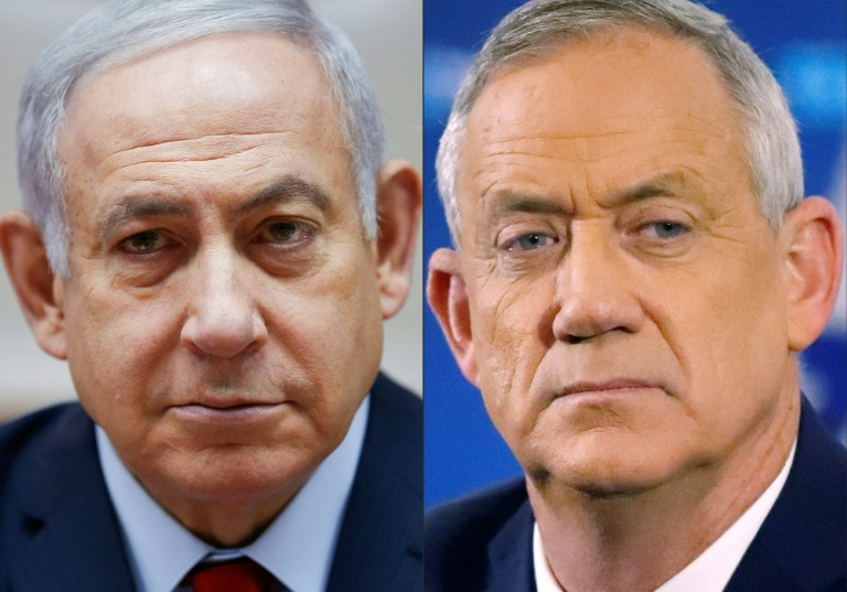 Israels Netanyahu, Gantz agree to explore unity government in first meeting
