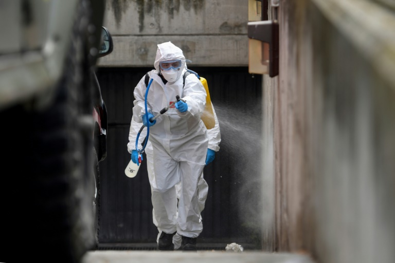 Italy, Spain suffer record virus deaths as British PM tests positive