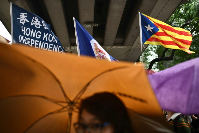 Unrest in Catalonia fuels Chinas accusations of Western hypocrisy