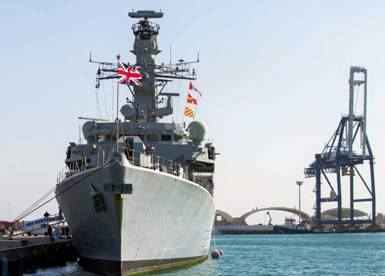 UK warship commander says Iran trying to test Britain in Gulf