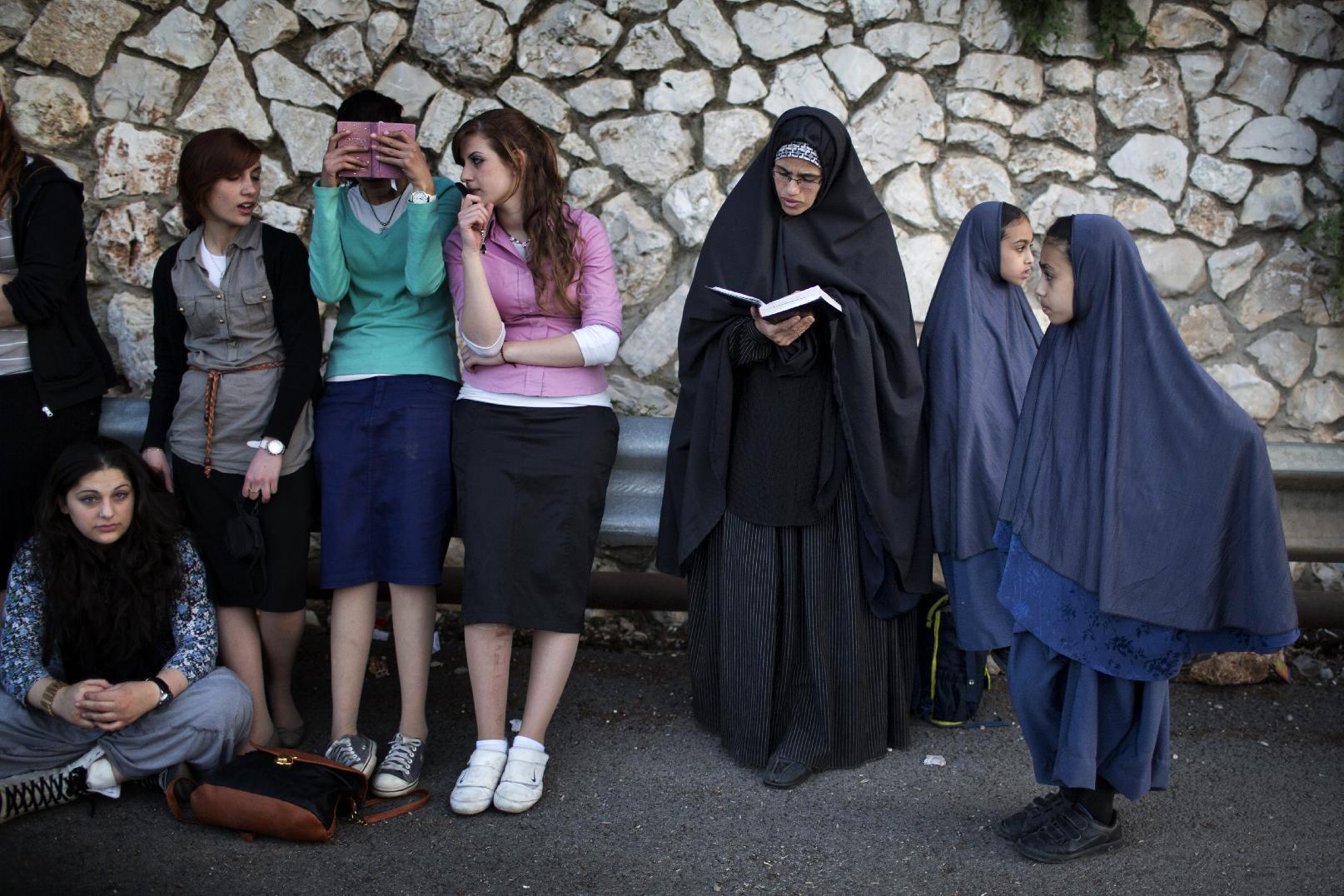 Haredi burqa sect  Wikipedia