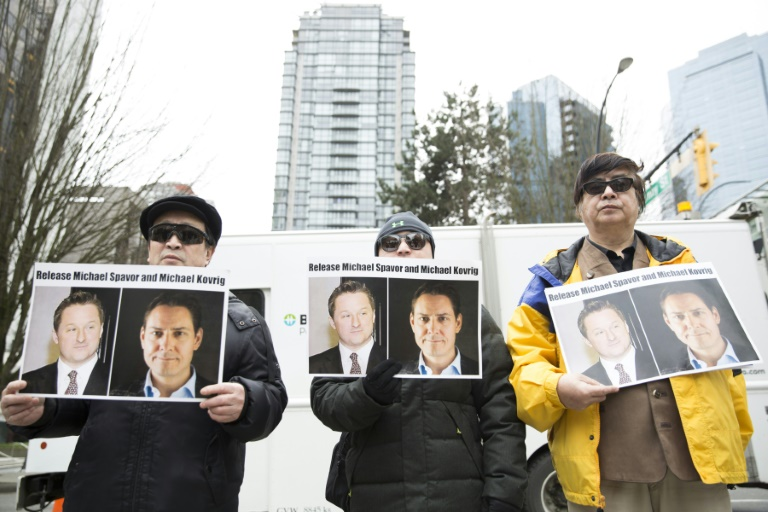 China denounces Canadas megaphone diplomacy over spy charges