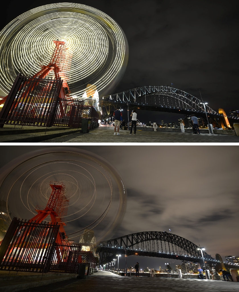 Cities and monuments switch off for Earth Hour
