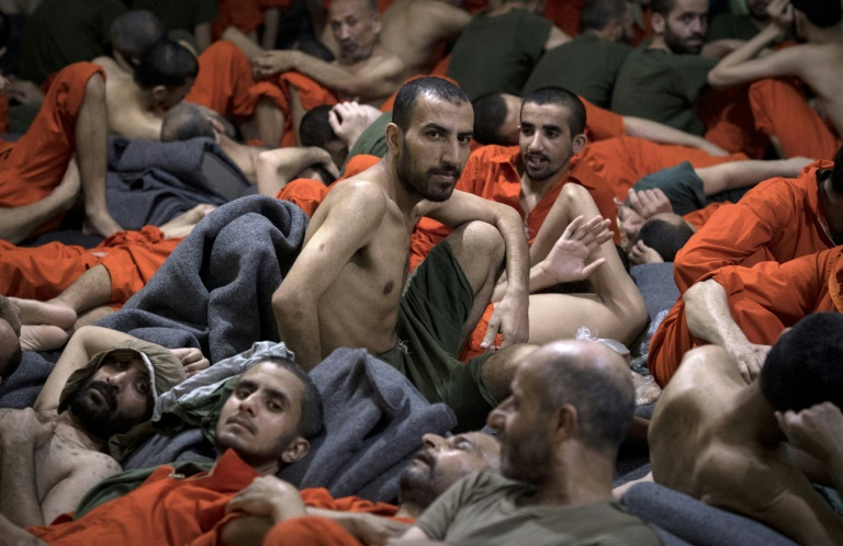 Bursting at the seams: inside an IS prison in Syria