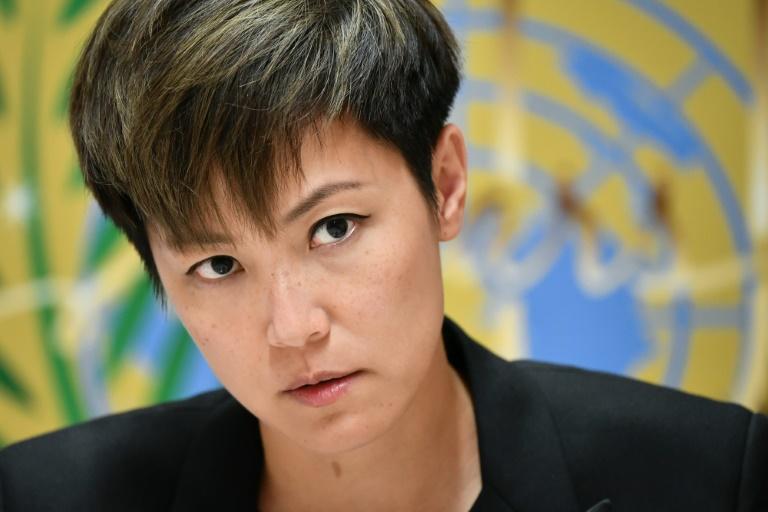At UN, Hong Kong activist calls for more pressure on China