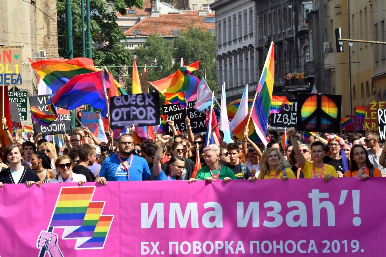 More than 2,000 attend Sarajevos first Gay Pride march