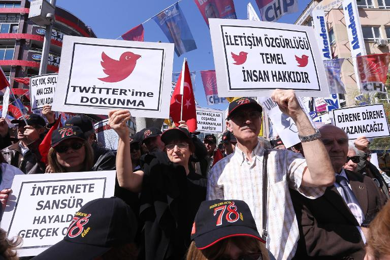 Twitter executives meet Turkish officials amid free speech row