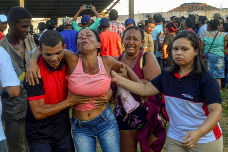 Inmates behind Brazil deadly prison riot transferred: official