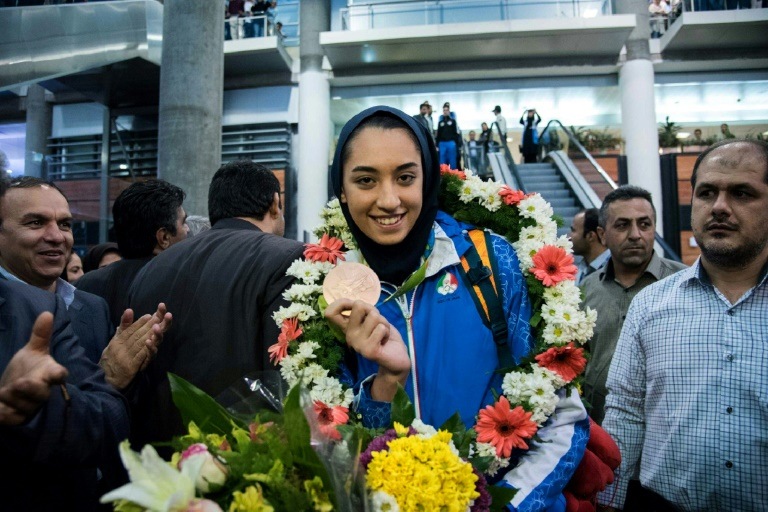 Irans sole female Olympic medallist defects