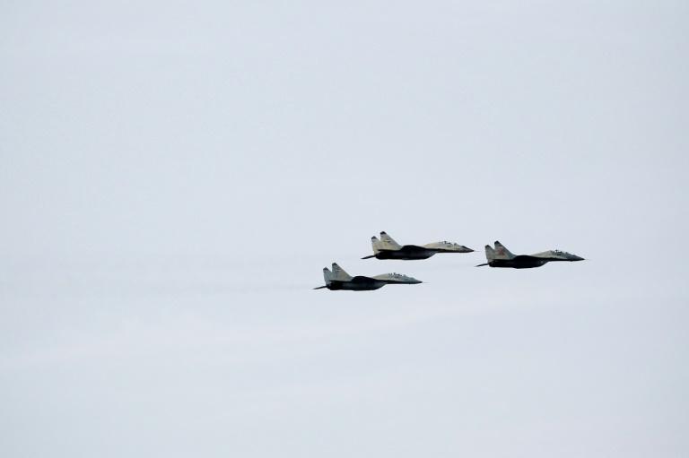 Iran warplane crashes near dormant volcano: state media