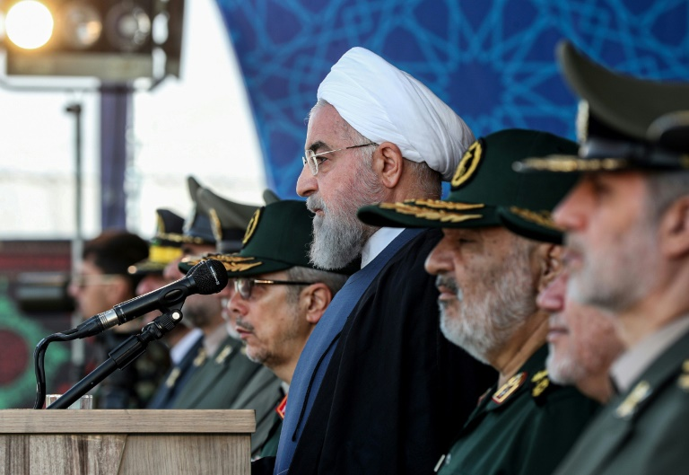Iran accuses foreign forces of raising Gulf insecurity