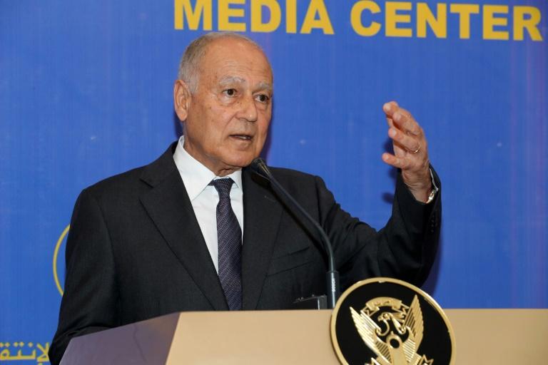 Despite suspension, Syria FM greets Arab League chief at UN