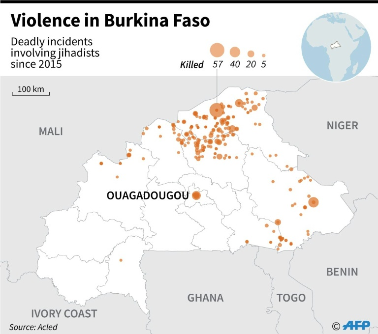 14 killed in Burkina Faso church attack: regional govt