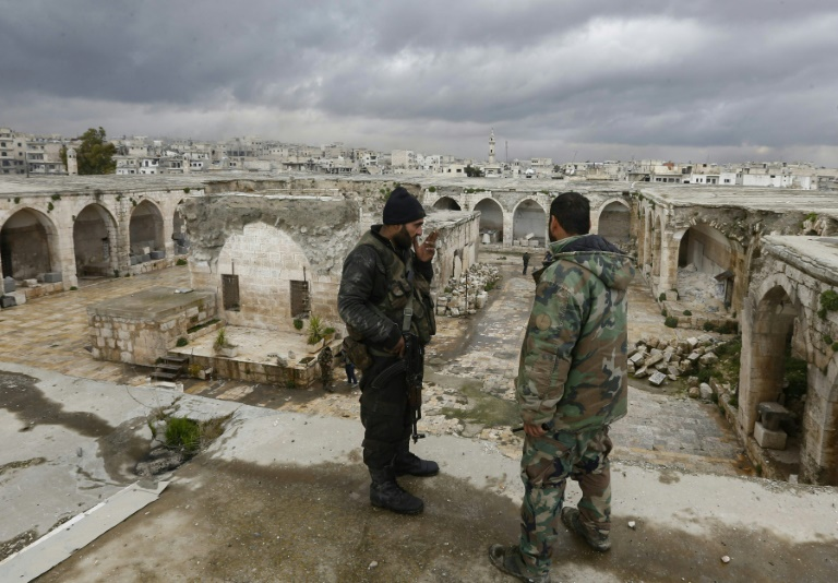 In former Syria rebel stronghold, nothing was spared