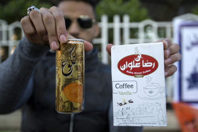 Iraqi protesters ire at Iran extends to goods boycott